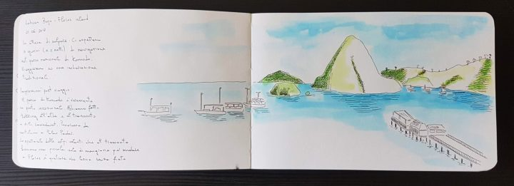 Labuan Bajo sketch